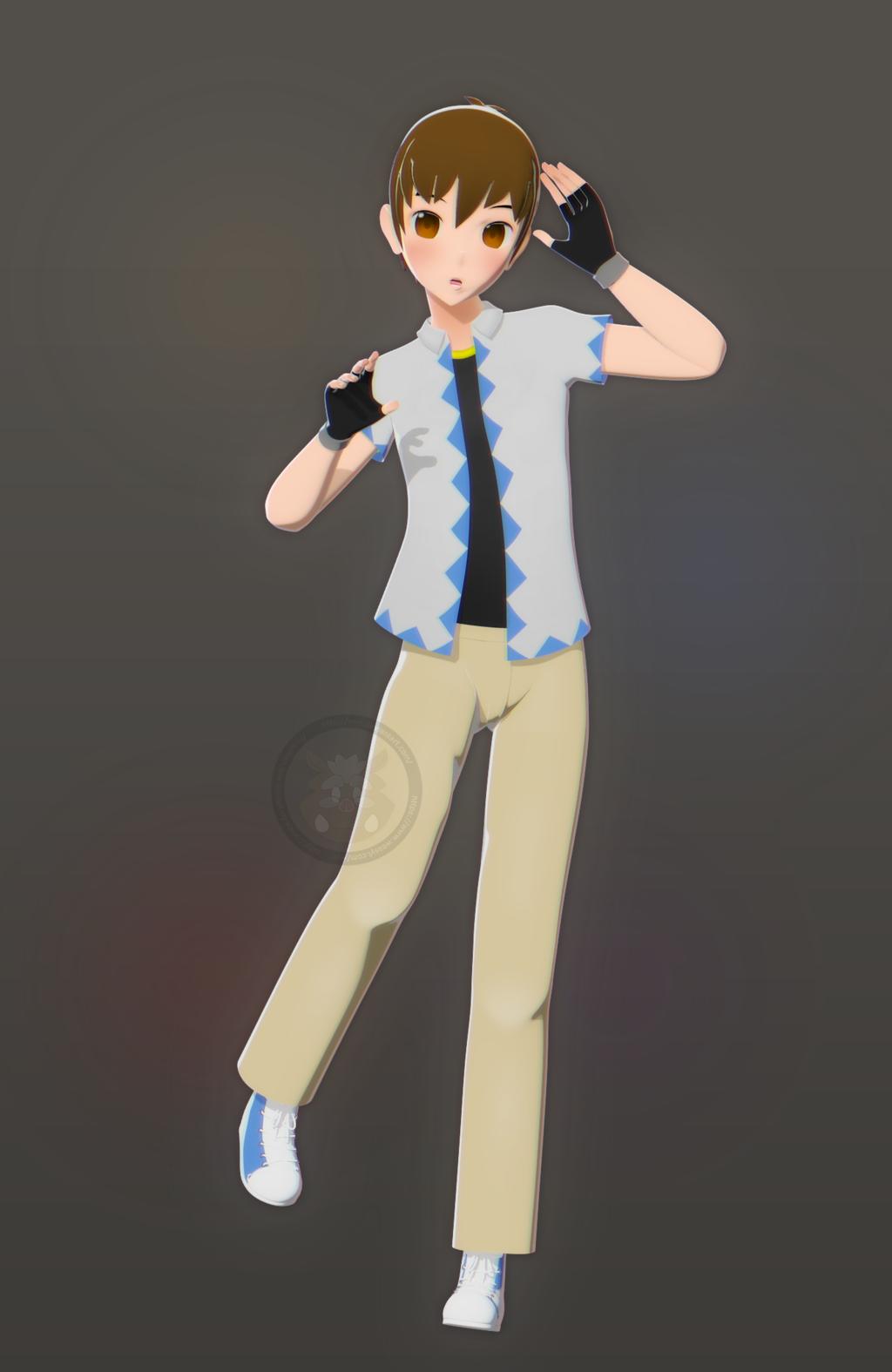 [3DA] Hey Look A Boy
