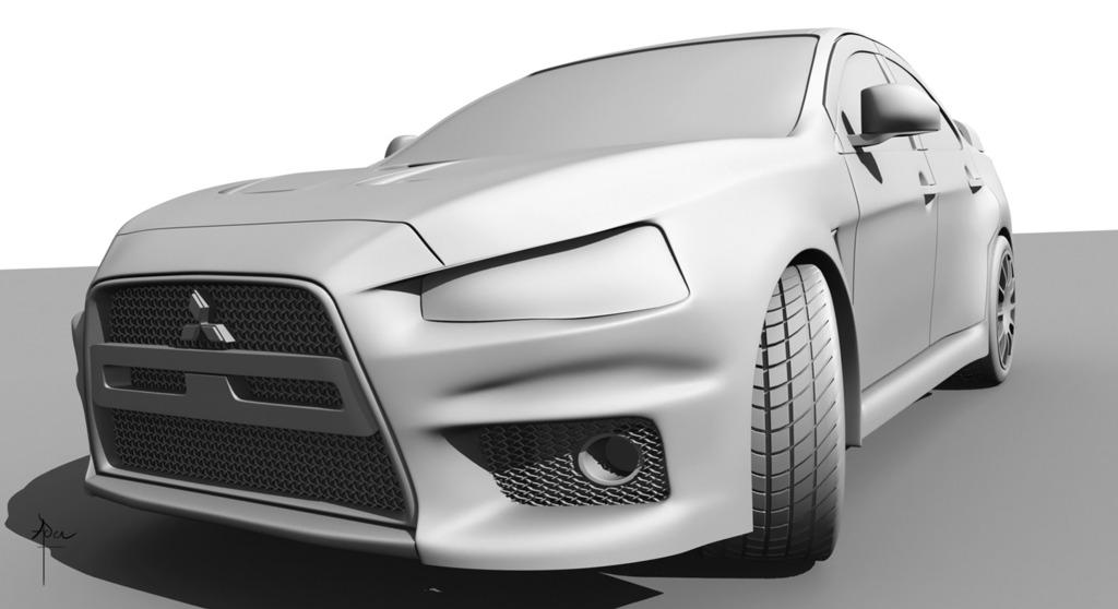 Featured image: Evo X Model