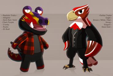 Animal Crossing Follower Design