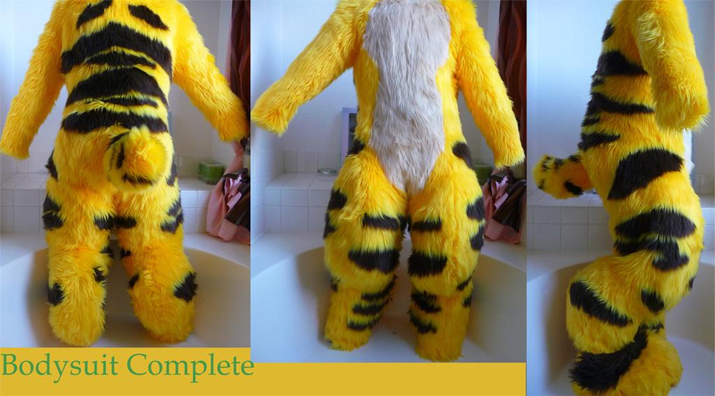 Stripey Bodysuit