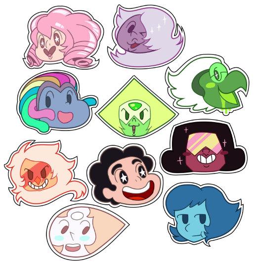 Steven Universe Point Stickers