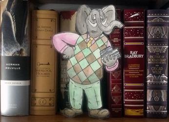 That elephant again