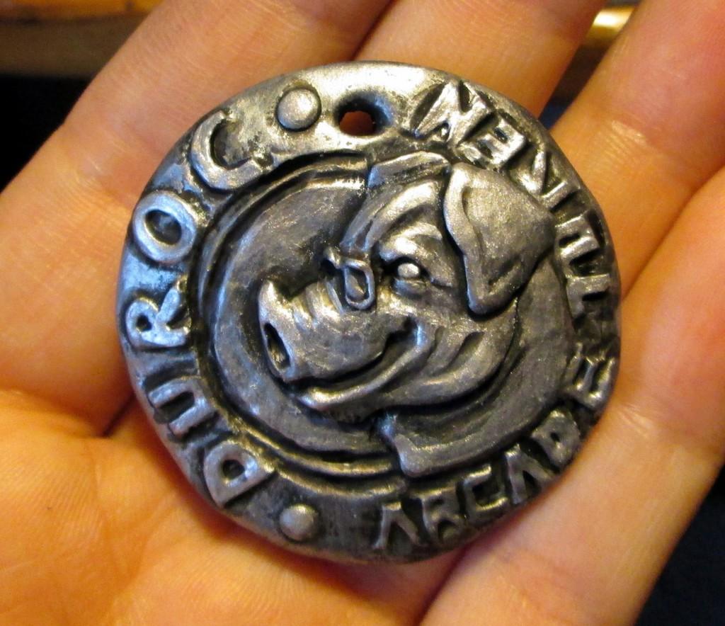 Coin Badge - Duroc
