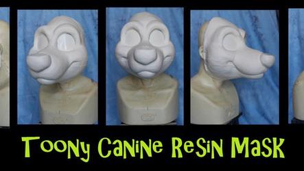 Toony Canine Resin Mask