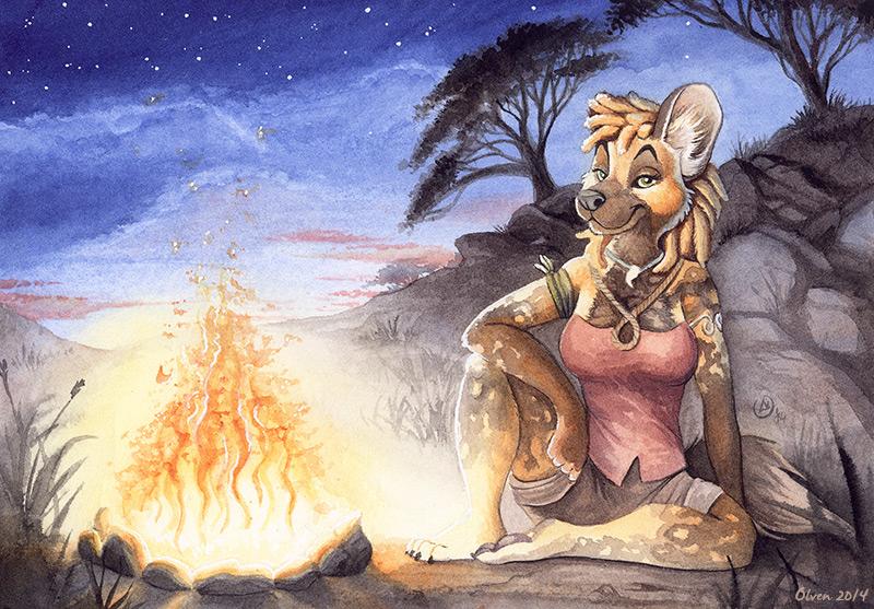 Warm Nights in Africa