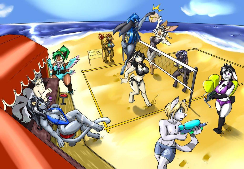 Beach Party (By Kame-Sama88)