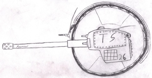 "TS ""Rolling Thunder"" Medium Spherical Tank"
