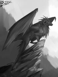 Aimless Dragon Speedpaint