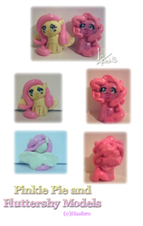 Fimo: FlutterShy and Pinkie Pie