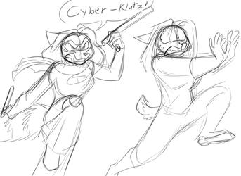 Cyber-Clutz strikes again!