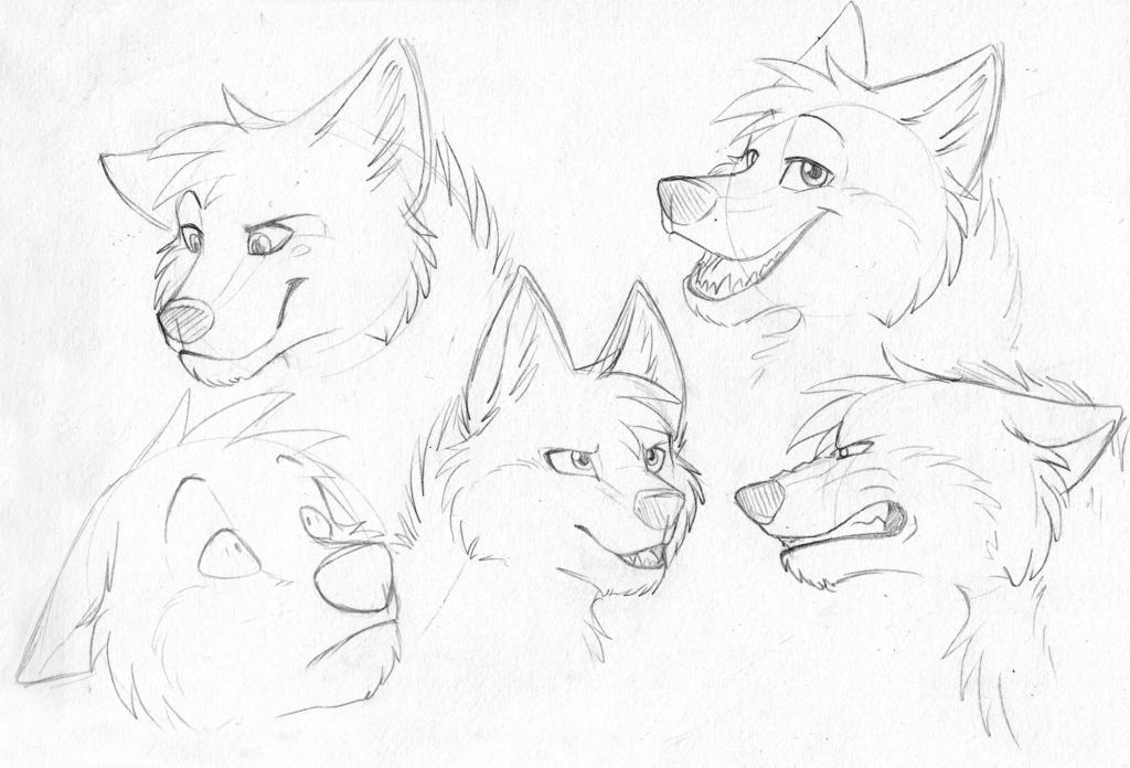Damien Sketches