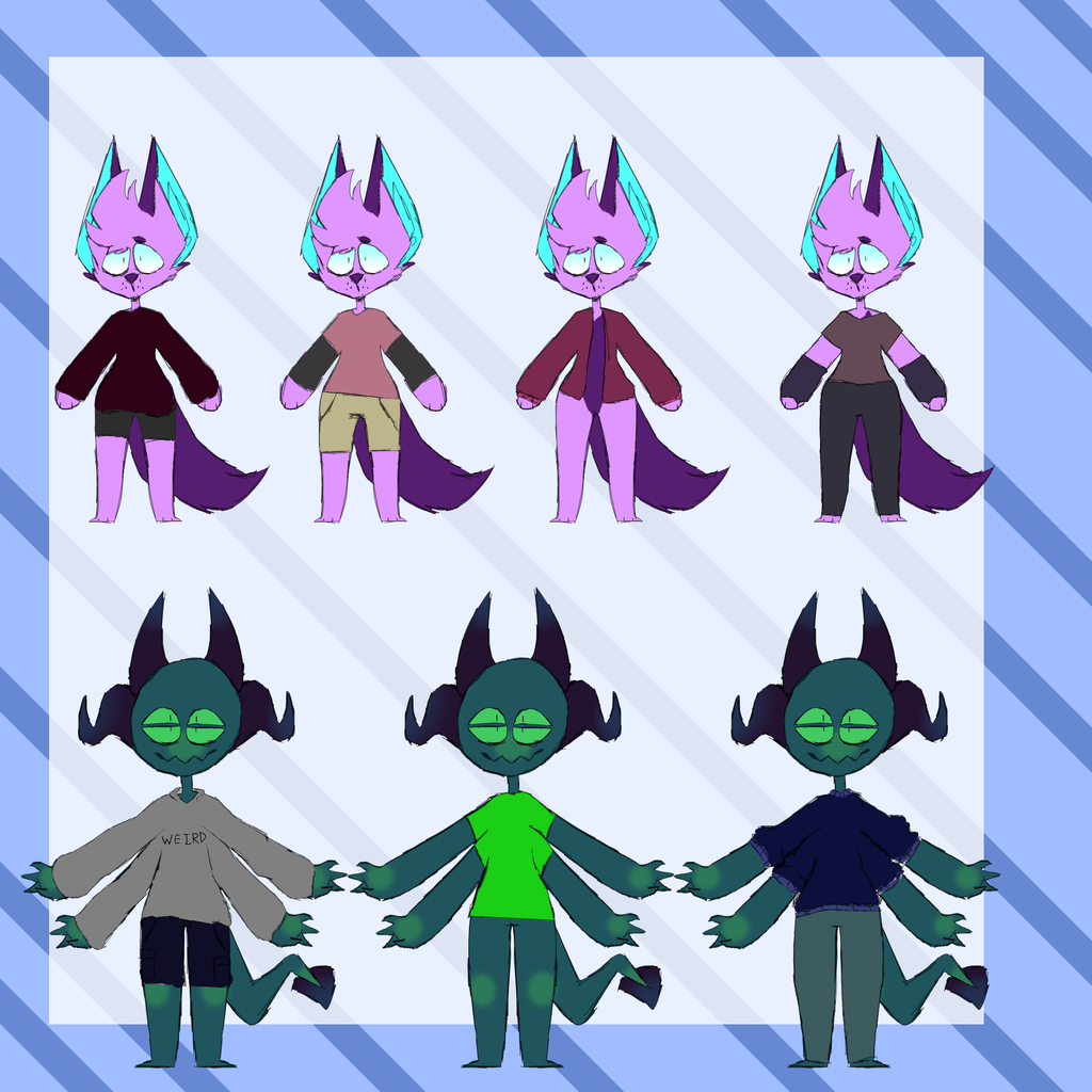 Outfit refs
