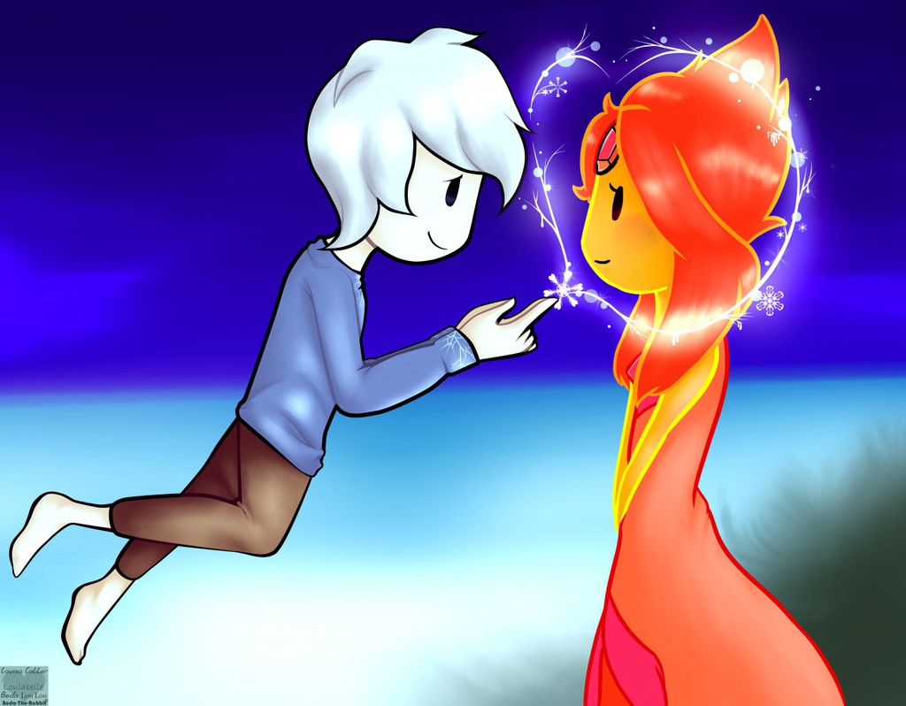 Jack Frost x Flame Princess by Beda-the-Rabbit