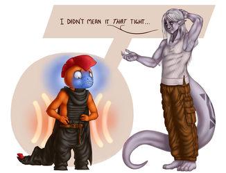 Commission - Furu's New Belt