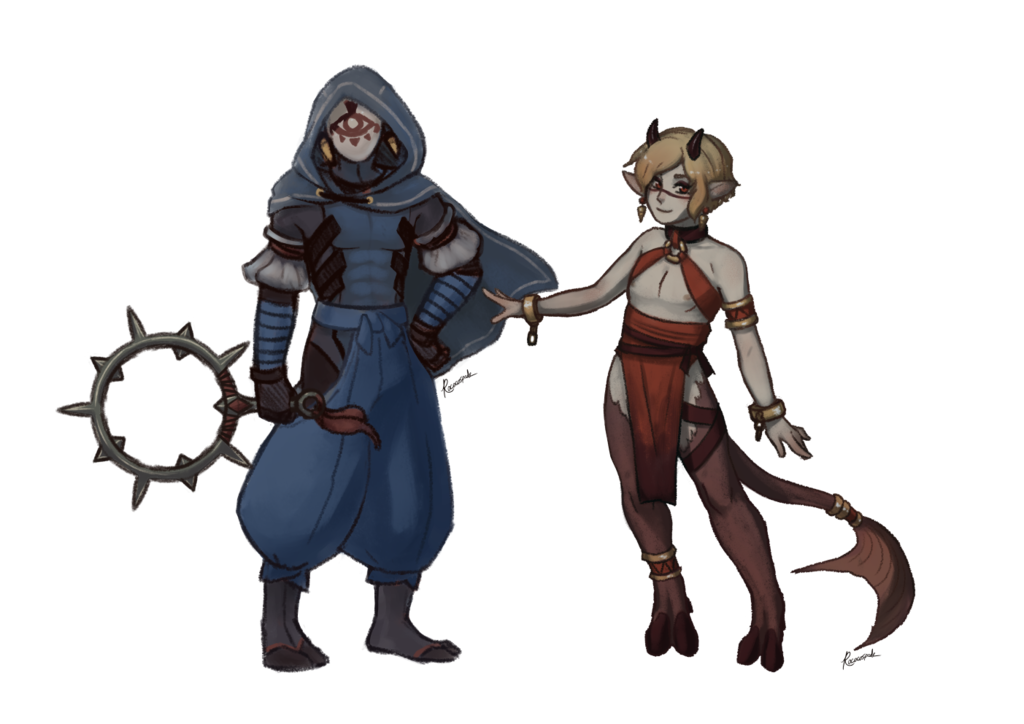 Exorcist and Fiel concept