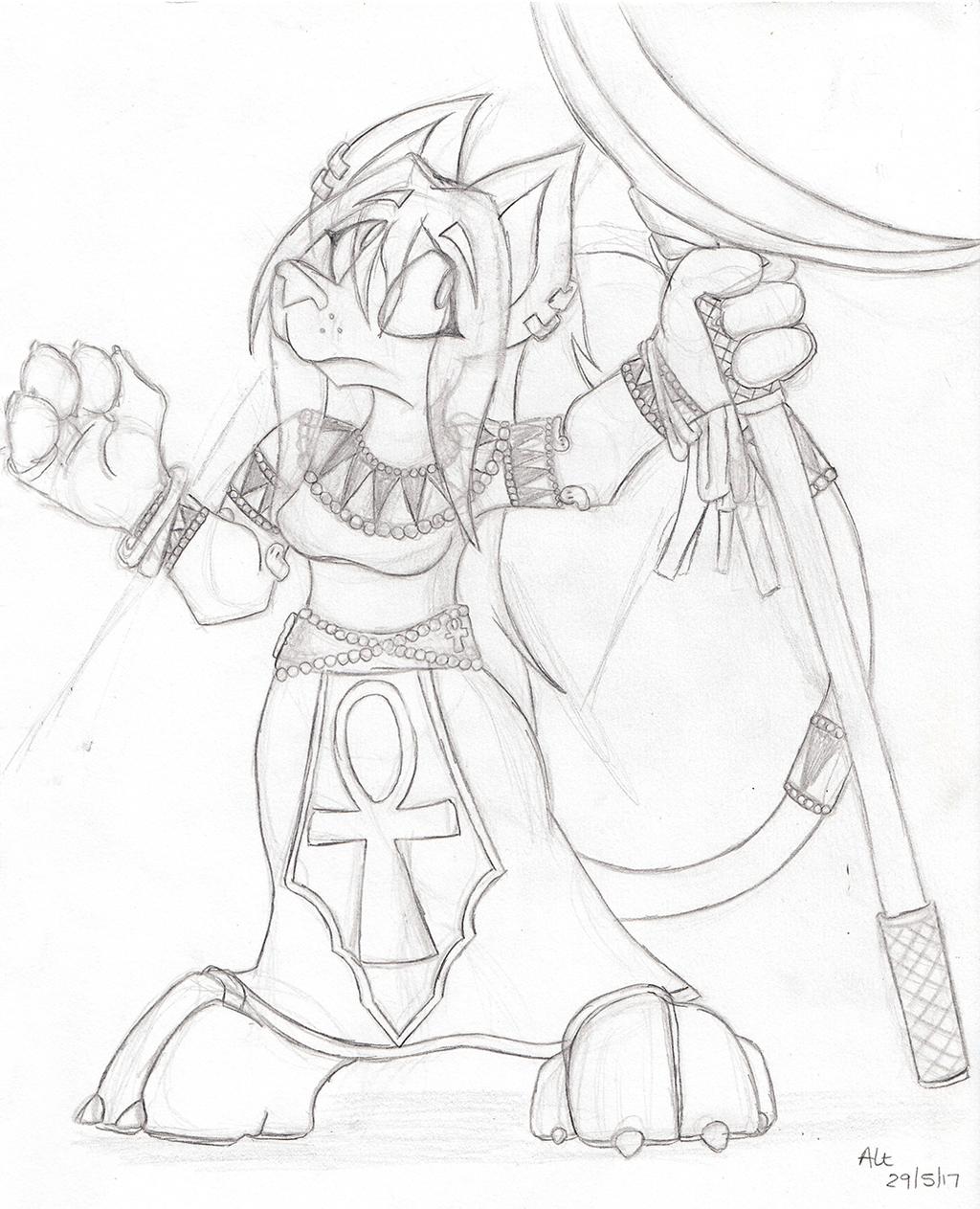 Kiya (Confuzzled 2017 Sketch)