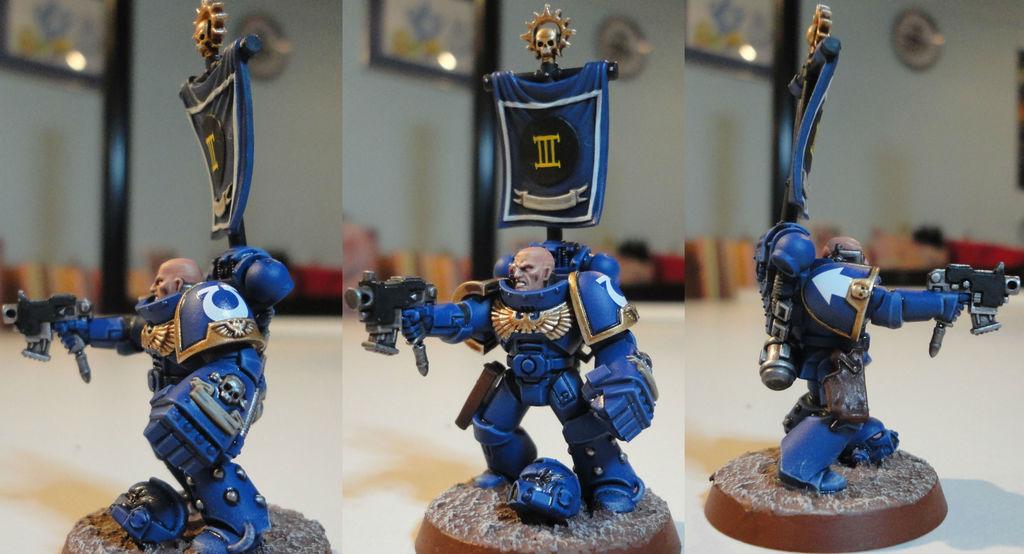 Galleria Imperialis - Ultramarine Sergeant