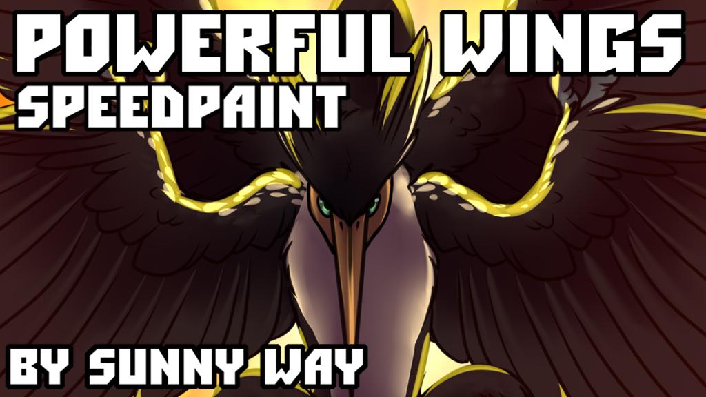 Powerful wings - Speedpaint