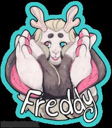 Freddy Con Badge