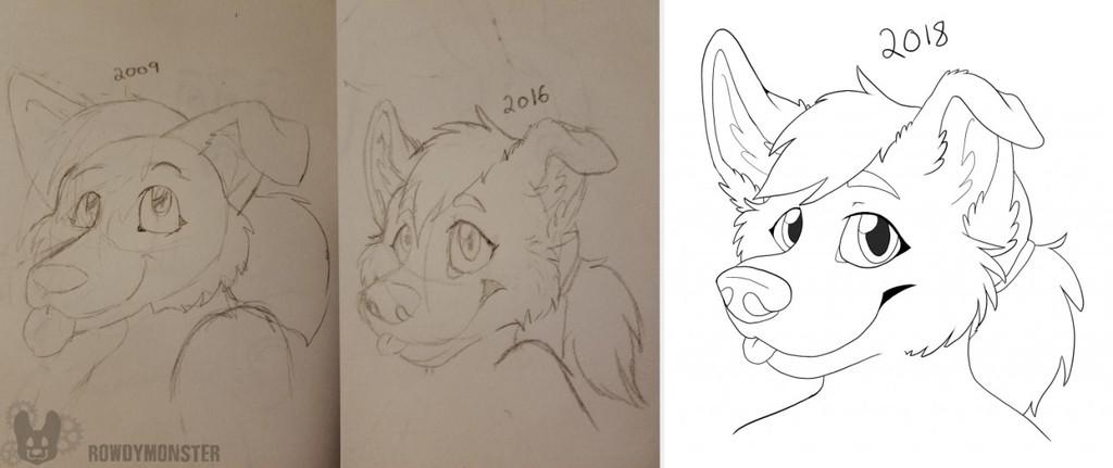 2009 to 2018 Progression