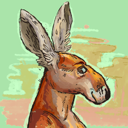 icon commission: red 'roo