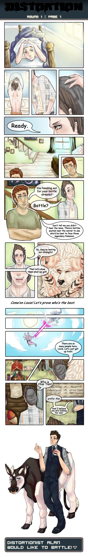 Distortion Round 1 :: Page 1