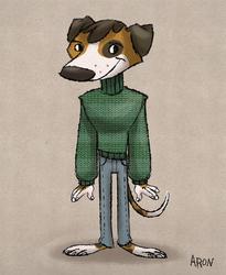 Animal Sweater Sunday - Basil