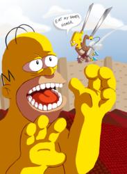 Attack on Homer