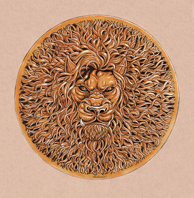 Golden Lion Shield