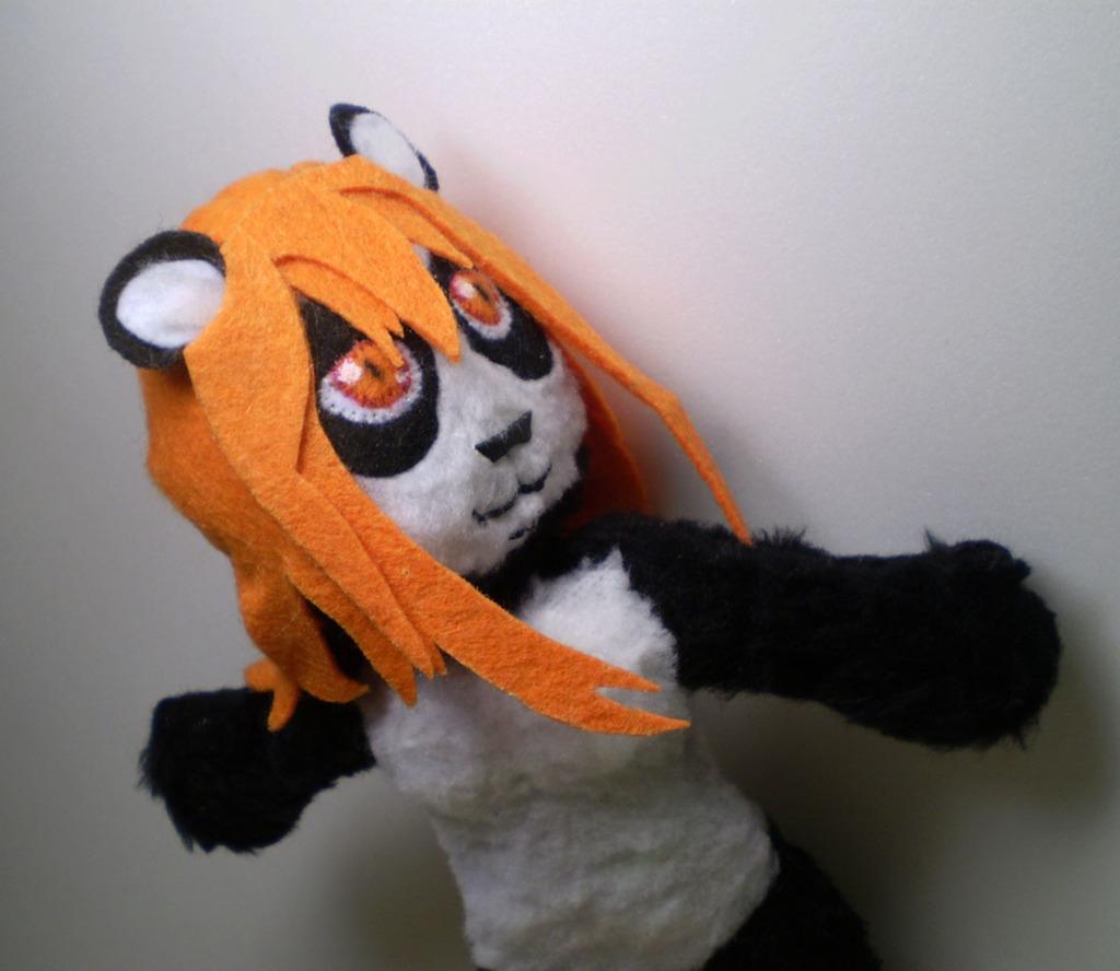 Commission: Capi-Panda plush