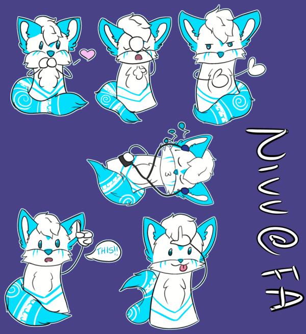 Sticker Commission for Nivv