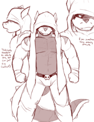 Rawr - Hero Sketches - Page 3