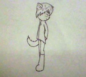 Chinchilla Character (sketch)