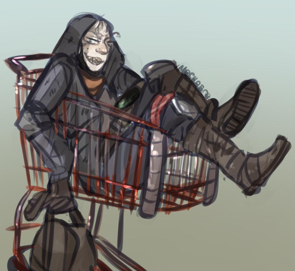 Most recent image: shopping cart full of tetanus