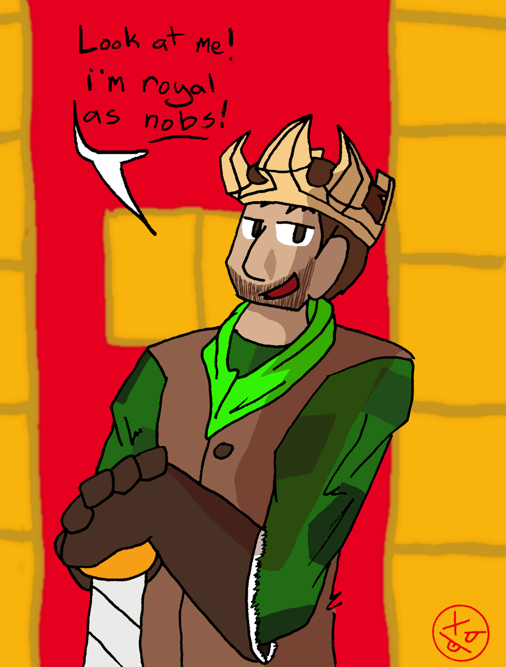 Achievement Hunter - King Gavin