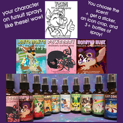 CUSTOM Fursuit Spray Auction!