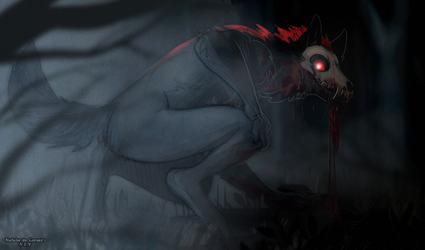 A horror in the dark