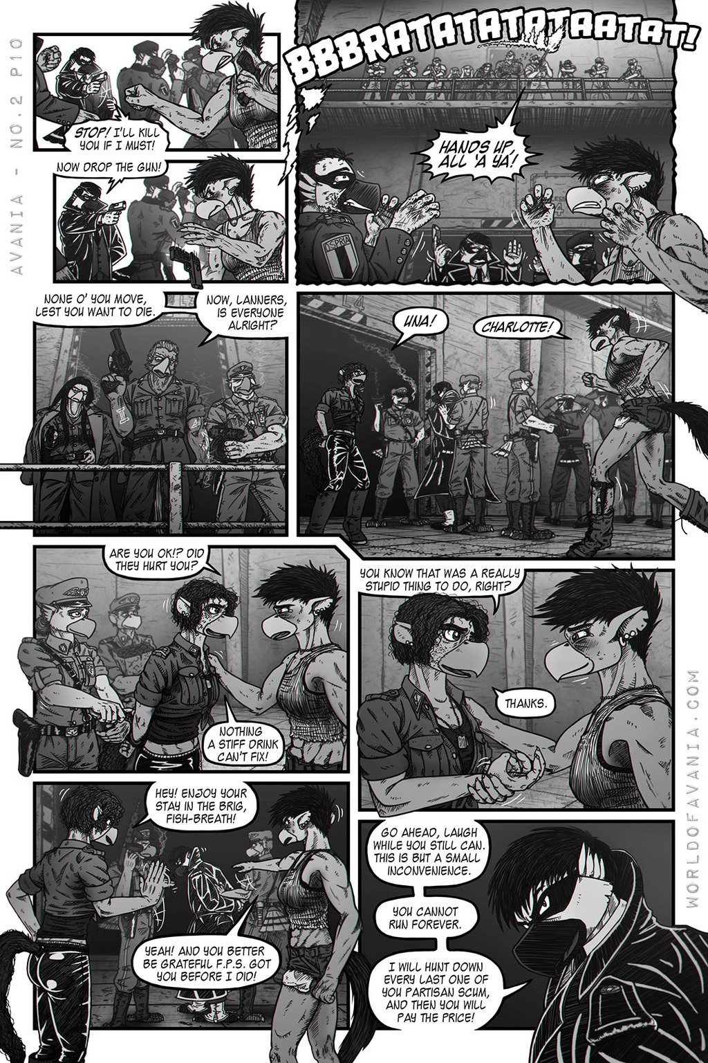 Avania Comic - Issue No.2, Page 10