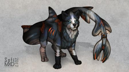 Wolf-SiSi[Painted Full body]