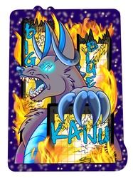 Big Blue Kaiju Commission