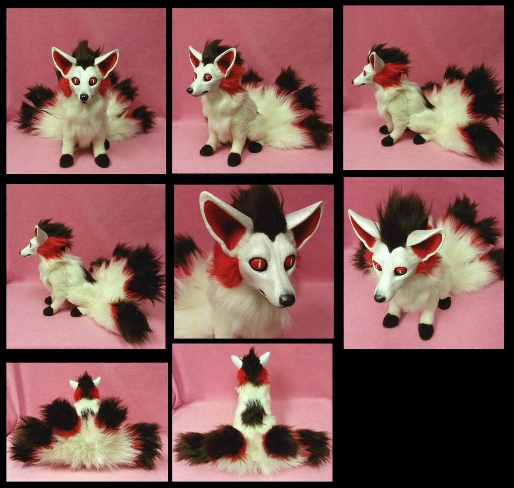 Mystery Skulls Animated 'Mystery' Kitsune doll