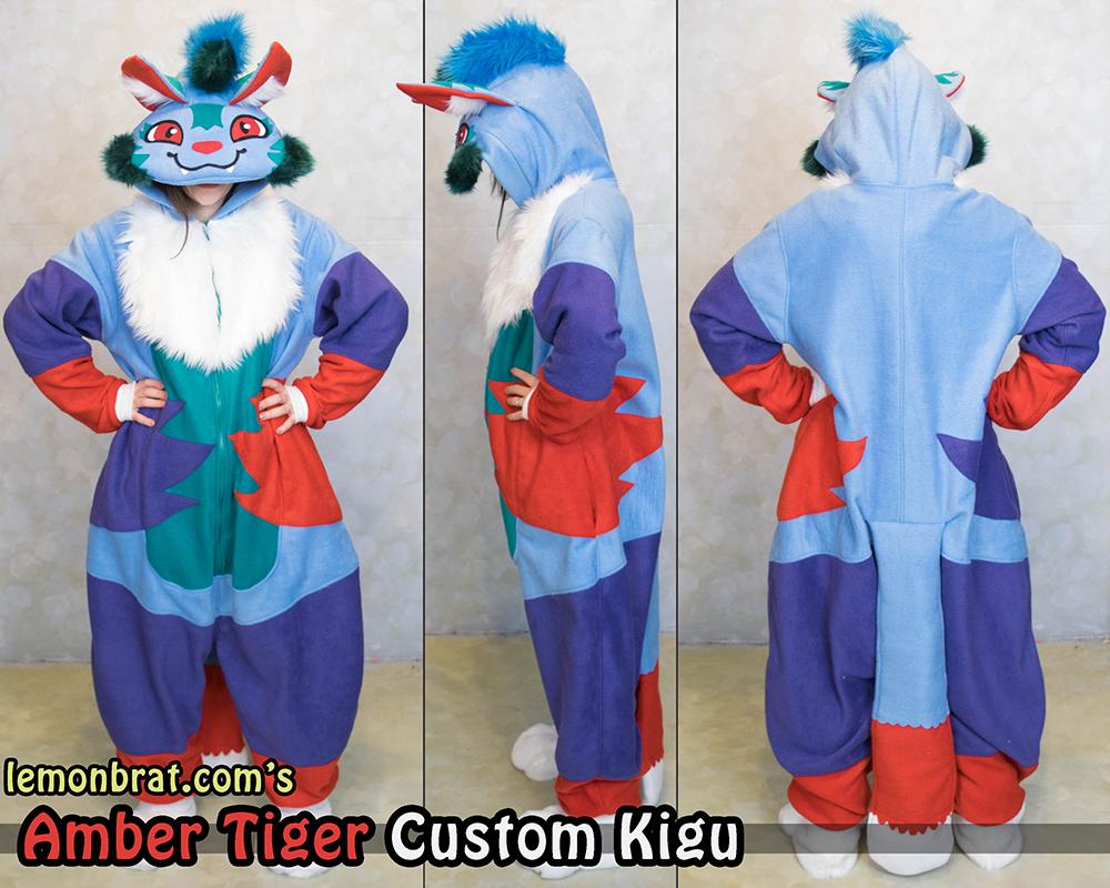 Most recent image: Amber Tiger Custom Kigu