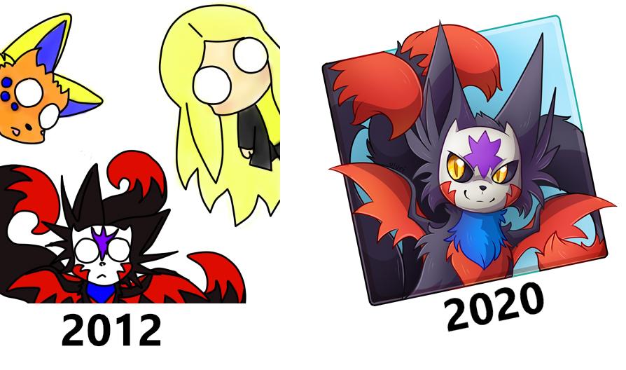 OLD v NEW art progress