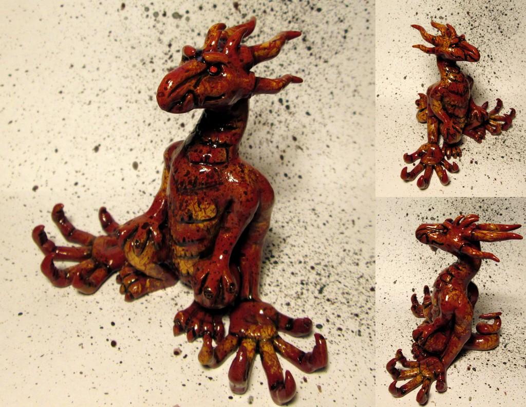 Red Jade Dragon