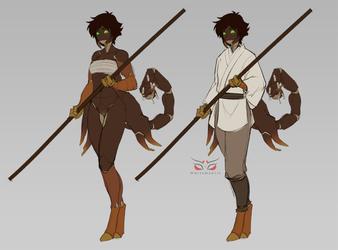 Sayaka Outfit Redesign