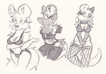 Lingerie Sketches 2