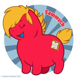 Fat Pony Badge - Sammych