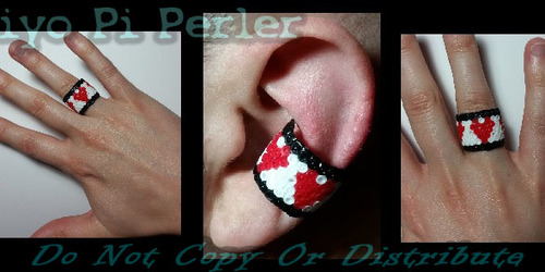 Life-bar Ear cuff or Ring (Original Pattern / Design)