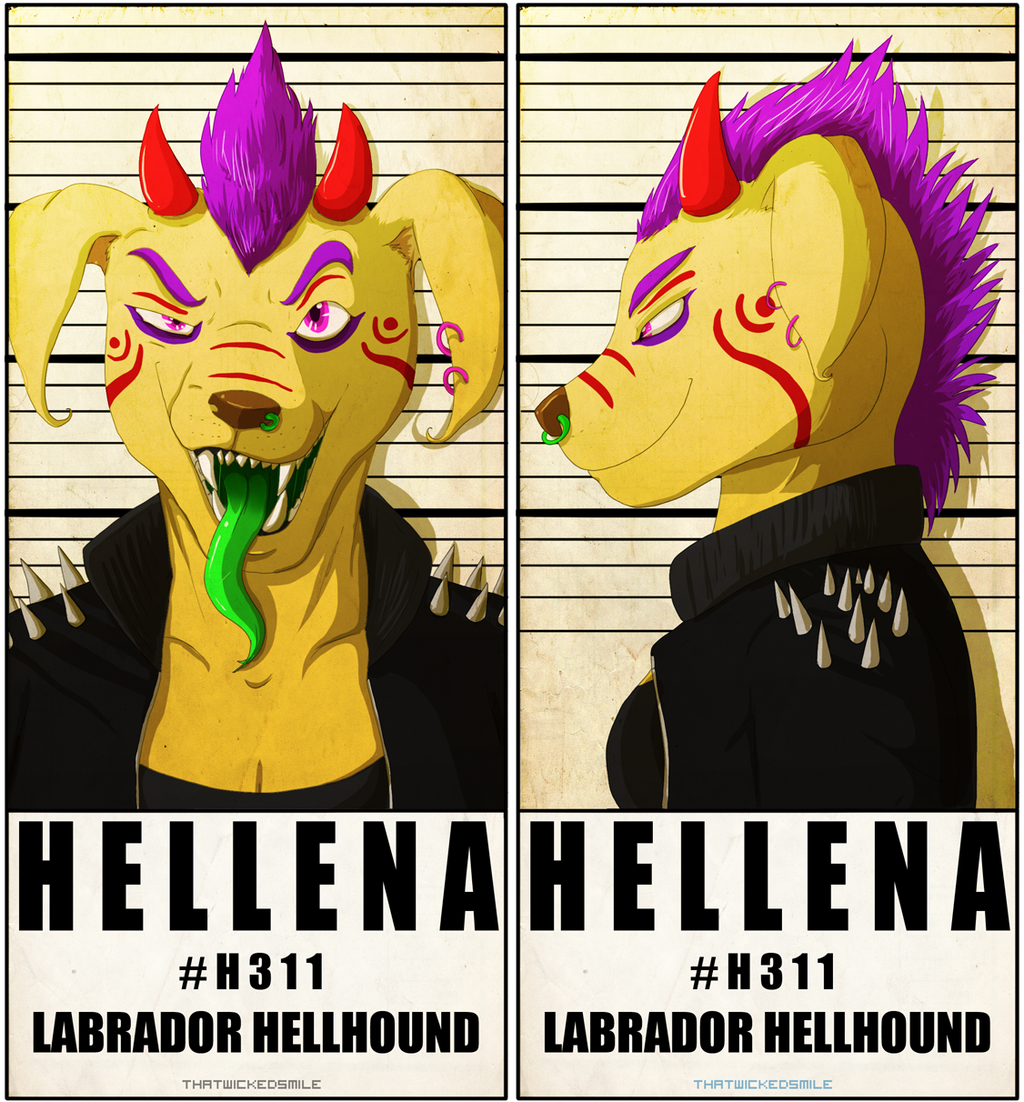 MugShot Badge - Hellena