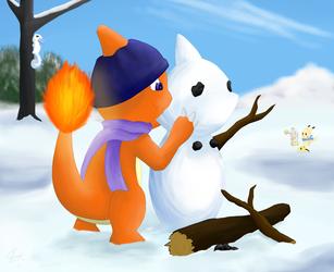 Cold Snow, Warm Hearts - by Arti4000